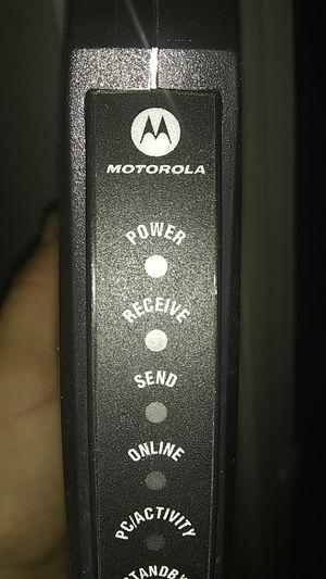 Motorola modem for Sale in Phoenix, AZ