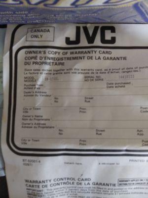 JVC XM-R70XL for Sale in San Antonio, TX