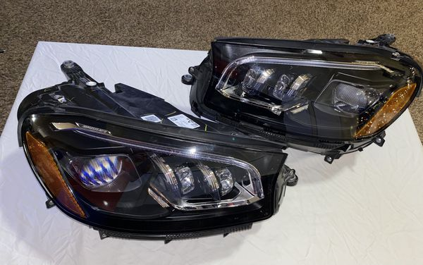 2020 Mercedes GLS450 LED Headlights