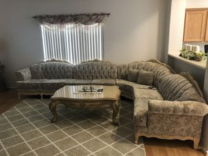Couch and coffee table for Sale in Cave Creek, AZ