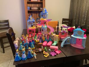 Disney magic clips and glitter glider lot Authentic for Sale in Chandler, AZ