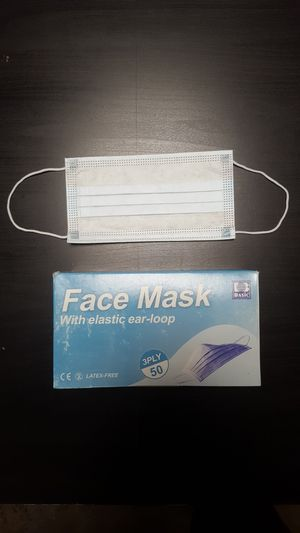 1000 Case | 20 BOXES | Earloop Face Masks | 50 Per Box| 3 Ply | for Sale in Los Angeles, CA