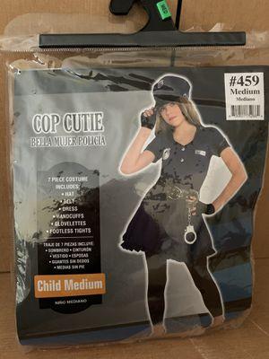 Cop Cutie Costume Child Medium for Sale in Pompano Beach, FL