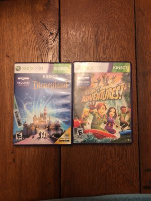 Xbox 360 Kinect games for Sale in Farmville, VA