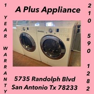 LG Front Load Washer And Dryer Set 1 Year Warranty for Sale in Live Oak, TX