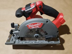 "Milwaukee 2730-20 M18 FUEL 18 Volt Cordless 6 1/2"" Circular Saw Bare Tool Only for Sale in Greenville, SC"