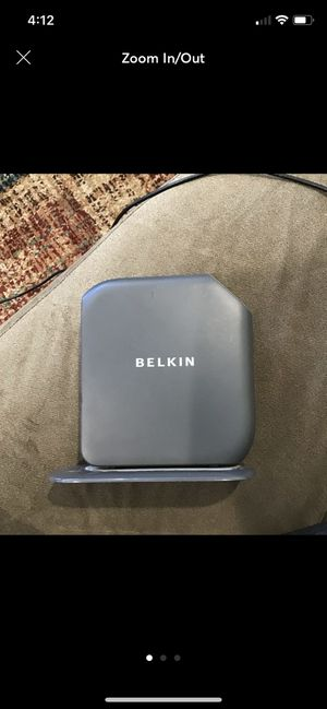 Belkin Router for Sale in Sarasota, FL