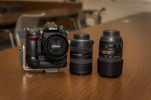 Nikon D7100 and several lenses for Sale in Houston, TX