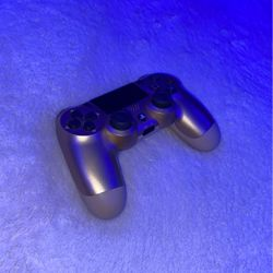 PlayStation (Gold) Dual Shock 4 Wireless Controller for Sale in Troy,  MI