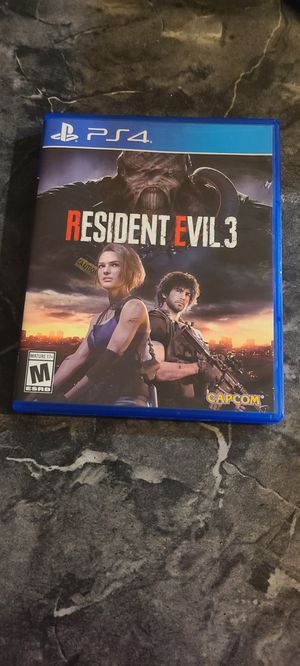 Resident evil 3 Ps4 for Sale in Hialeah, FL