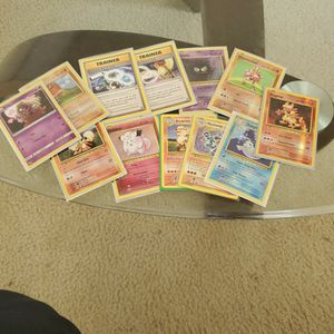 Lot Of Holo, Reverse Holo And Trainers From Pokemon XY Evolutions for Sale in Middleburg, FL