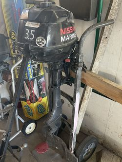 Used Nissan marine 3.5hp Outboard for Sale in Marina del Rey,  CA