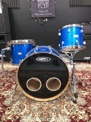 OCDP Custom Blue Sparkle 3pc Drum Set for Sale in Vista, CA