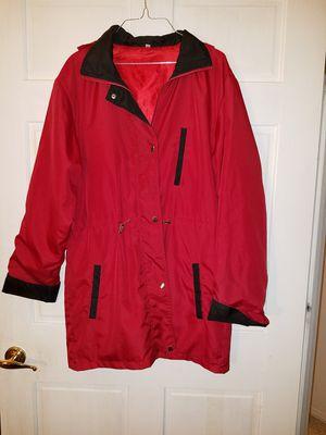 Women's hooded light weight windbreaker rain jacket. Sz large. for Sale in St. Louis, MO