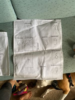 Tarot reading spread layout mat for Sale in Amarillo, TX