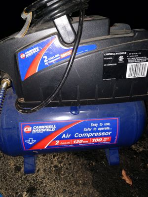 2 gallon 120psi air compressor for Sale in Reynoldsburg, OH