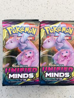 "Pokemon Undefined Mind Booster Packs 🔥 ""Read Description"" for Sale in Sacramento,  CA"