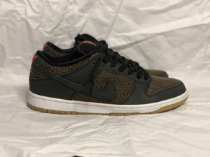 "Nike Sb dunk low ""Giraffe"" size 9.5 for Sale in Houston, TX"