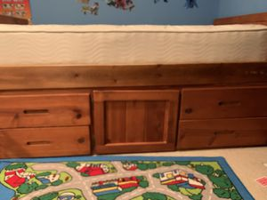 Twin bed frame with drawers for Sale in Bothell, WA