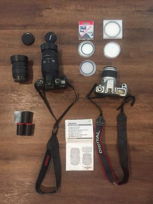 Canon and Sigma 35mm for sale for Sale in Plano, TX