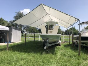 I have canopies for boats trucks RVs campers trailers and more Starting from $225 for 20x20 ft 15H for Sale in Tampa, FL