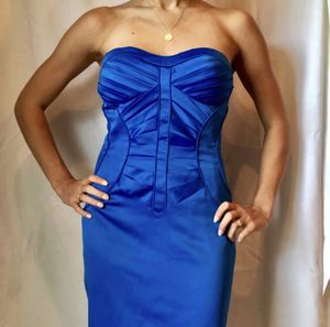 Arden B royal blue strapless dress for Sale in Kirkland, WA