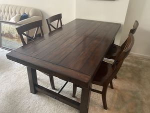 Pottery Barn Dining Table & Chairs for Sale in Washington, DC