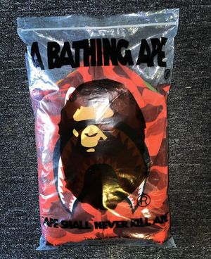 Bape Shark Hoodie (Red) for Sale in Providence, RI