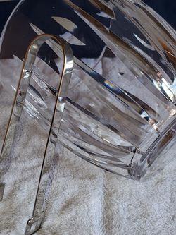 New Waterford Crystal Ice Bucket With Silver Tong and DOZENS more items posted here for Sale in Kirkland,  WA
