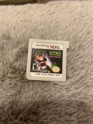 Luigi's mansion dark moon for Nintendo 3ds - game card only for Sale in Chicago, IL