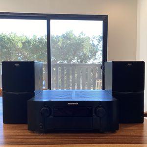 Marantz AV Surround Receiver And Klipsch Speakers for Sale in South Pasadena, CA