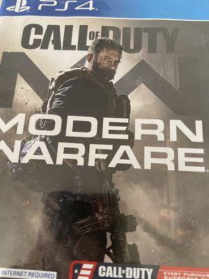 Modern warfare for Sale in Fresno, CA