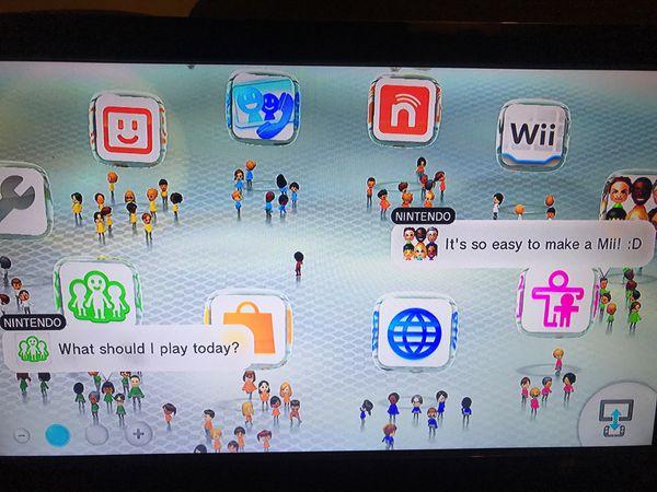 Nintendo Wii U Black Console 32 GB with Pro Controller