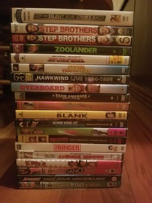 Stack of Comedy Films on DVD for Sale in Portland, OR