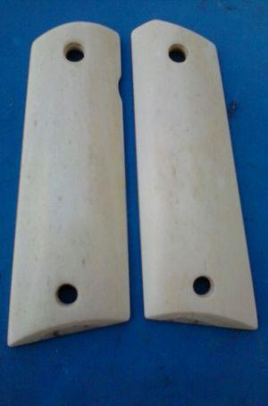 Giraffe bone 1911 full-size pistol grips! for Sale in Apex, NC