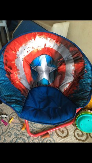 Almost new captain America chair for Sale in West Dundee, IL