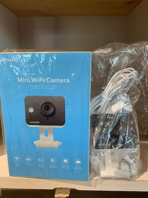 Zmodo 1080p Mini WiFi Pet Camera Two-Way Audio Smart Home Camera with Night Vision for Sale in Raleigh, NC