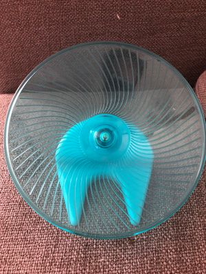 Silent spinner/for dwarf hamsters/ good condition for Sale in Glendale Heights, IL