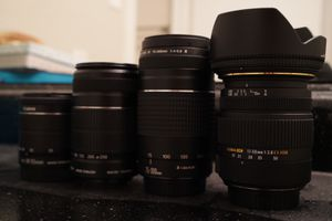 Canon lenses, great price for Sale in Austin, TX
