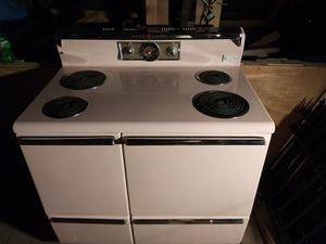 General electric push button stove for Sale in US
