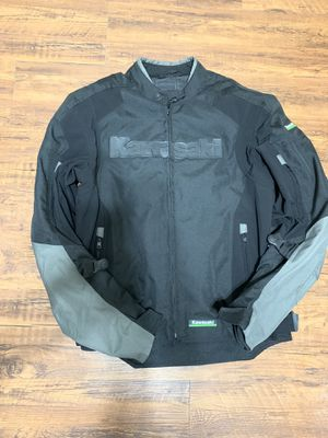 Kawasaki motorcycle jacket for Sale in Irving, TX