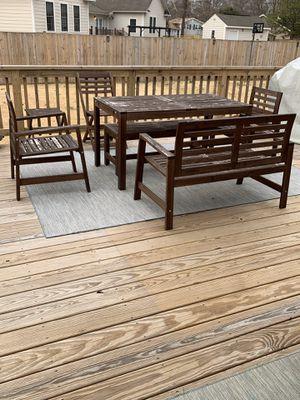 IKEA APPLARO outdoor patio set for Sale in Alexandria, VA