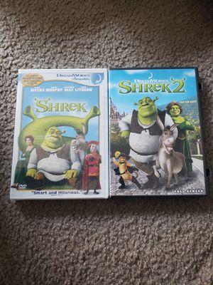 Shrek 1 & 2 for Sale in Kansas City, MO