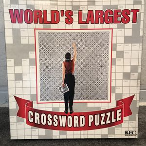 World's Largest Crossword (Puzzle Game can hang on Wall) for Sale in Miami Beach, FL