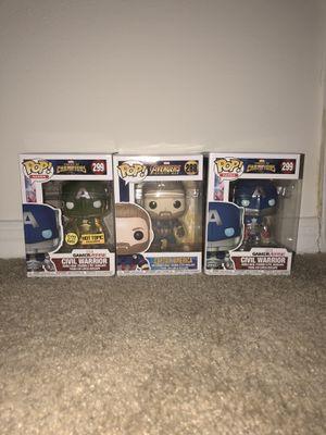 Captain America Funko Pops! for Sale in Tampa, FL