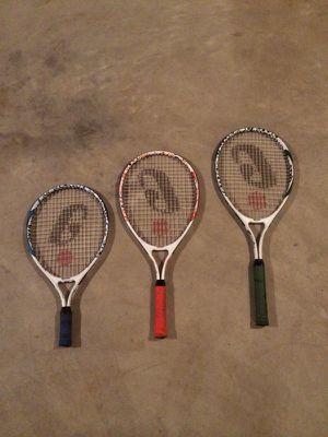 Jr tennis rackets for Sale in O'Fallon, MO