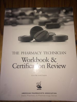 The pharmacy technician work book for Sale in Penrose, CO