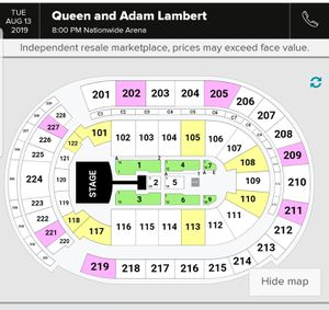 Queen rhapsody tour for Sale in Columbus, OH