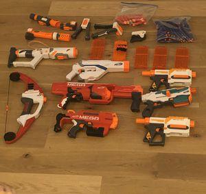 Nerf Gun Lot (8 guns) for Sale in Poway, CA