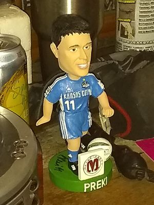 Preki #11 autographed bobble head for Sale in Kansas City, MO